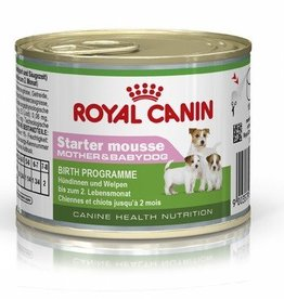 Royal Canin Starter Mousse Wet Dog Food Can 195g