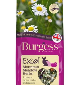 Burgess Excel Mountain Meadow Herbs for Small Animals 120g