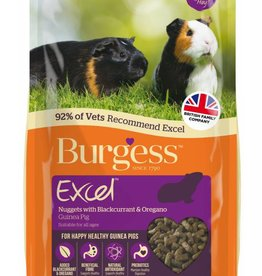 Burgess Excel Guinea Pig Food, Blackcurrant & Oregano 2kg