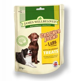 James Wellbeloved Dog Crackerjacks, Lamb 225g