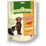 James Wellbeloved Crackerjacks Hypo-Allergenic Dog Treats, Turkey, 225g