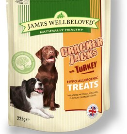 James Wellbeloved Dog Crackerjacks, Turkey 225g