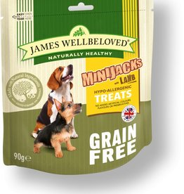 James Wellbeloved Dog MiniJacks Grain Free, Lamb 90g