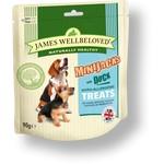 James Wellbeloved MiniJacks Hypo-Allergenic Dog Treats, Duck, 90g