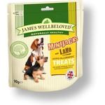James Wellbeloved Dog MiniJacks, Lamb 90g