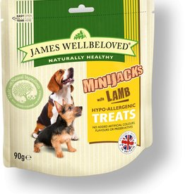 James Wellbeloved Dog MiniJacks, Lamb 90g