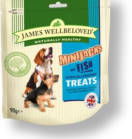 James Wellbeloved Dog MiniJacks,  Fish 90g
