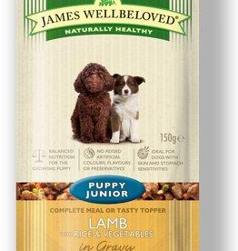 James Wellbeloved Puppy Junior Wet Food Pouch Lamb & Rice 150g