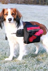 Trixie Backpack for dogs, Black