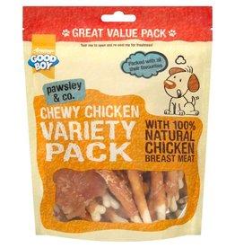 Good Boy Pawsley Chicken Dog Treats Variety Pack 320g