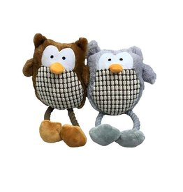 Armitage Hug Tug Owl Dog Toy