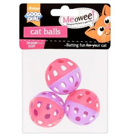 Good Girl Meowee Cat Balls pack of 3