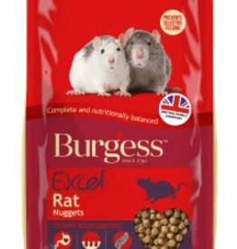 Burgess Excel Rat Food Nuggets 1.5kg