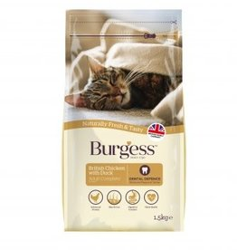 Burgess Adult Cat Dry Food, Chicken & Duck