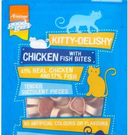 Good Girl Chicken with Fish Bites Cat Treat 40g