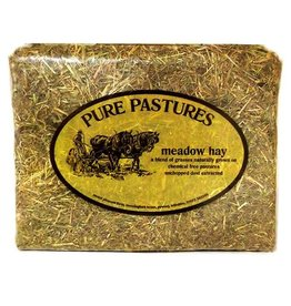 Pure Pastures Meadow Hay, Mini Bag