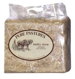 Pure Pastures Barley Straw, Mini Bag