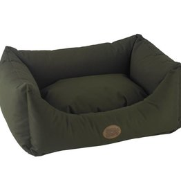 Snug & Cosy Waterproof Pescara Rectangle Dog Bed, Forest Green