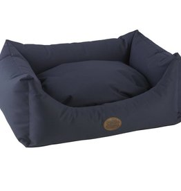 Snug & Cosy Waterproof Pescara Rectangle Dog Bed, Navy