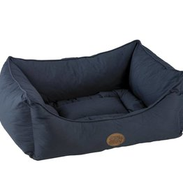 Snug & Cosy Winchester Quilted Rectangle Bed, Navy