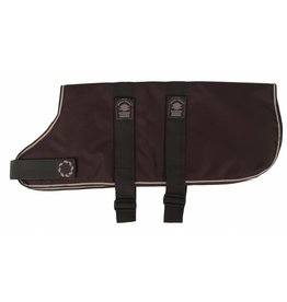 Animate Breathe Comfort Padded Brown Dog Coat