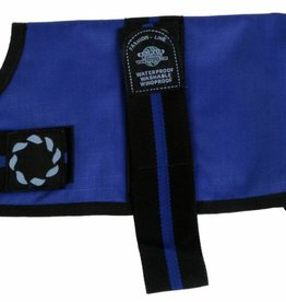 Animate Breathe Comfort Padded Fashion Blue Dog Coat