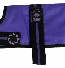Animate Breathe Comfort Padded Fashion Purple Dog Coat