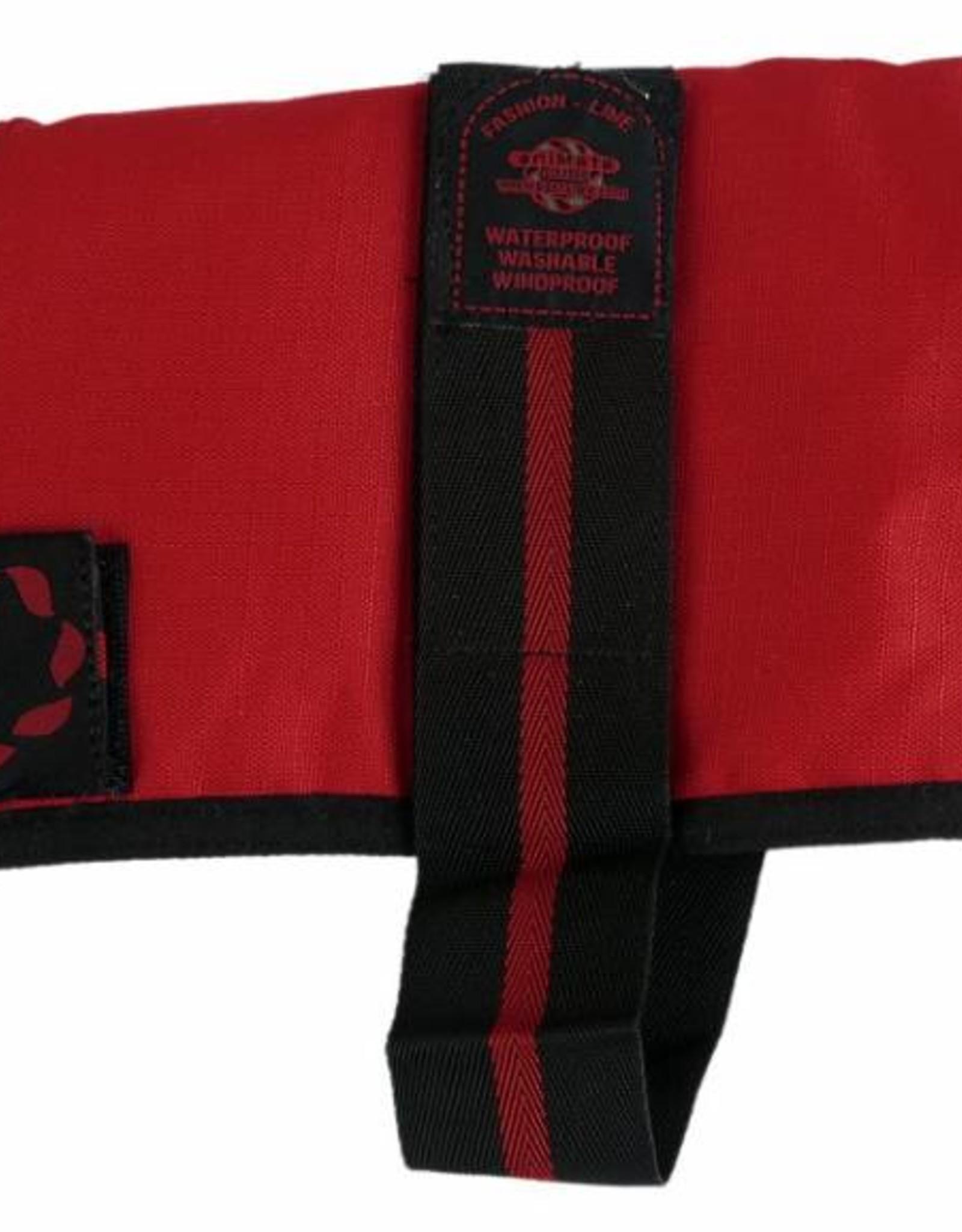 Animate Breathe Comfort Padded Fashion Red Dog Coat