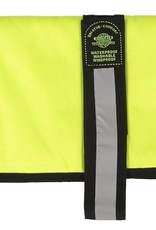 Animate Breathe Comfort Padded Fluorescent Yellow Hi Vis Dog Coat
