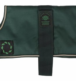 Animate Breathe Comfort Padded Green Dog Coat