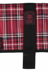 Animate Breathe Comfort Padded Red Tartan Dog Coat
