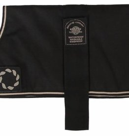 Animate Breathe Comfort Unlined Black Dog Coat