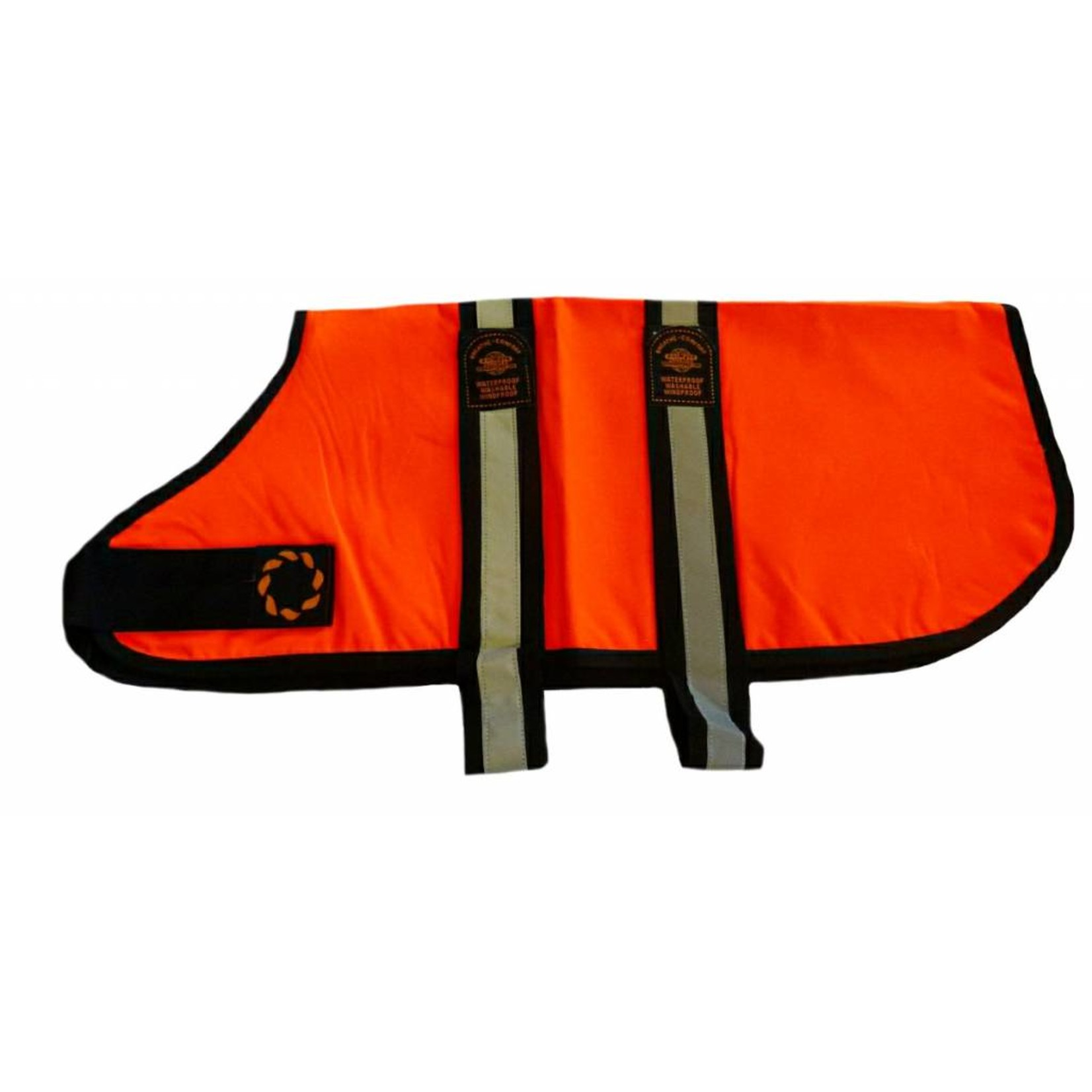 Animate Breathe Comfort Unlined Hi-Vis Orange Dog Coat