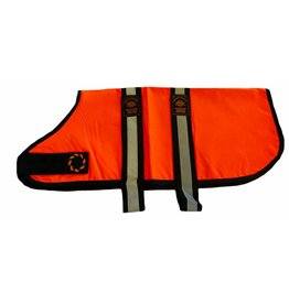 Animate Breathe Comfort Unlined Hi-Vis Orange Dog Coat