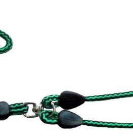 Animate Trigger Hook Lead & Coupler Green & Black 42inch x 9mm