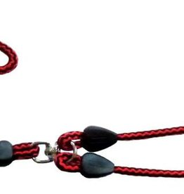 Animate Trigger Hook Lead & Coupler Red & Black 42inch x 9mm