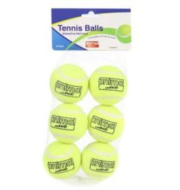 Animal Instincts Tennis Ball Dog Toy, pack of 6