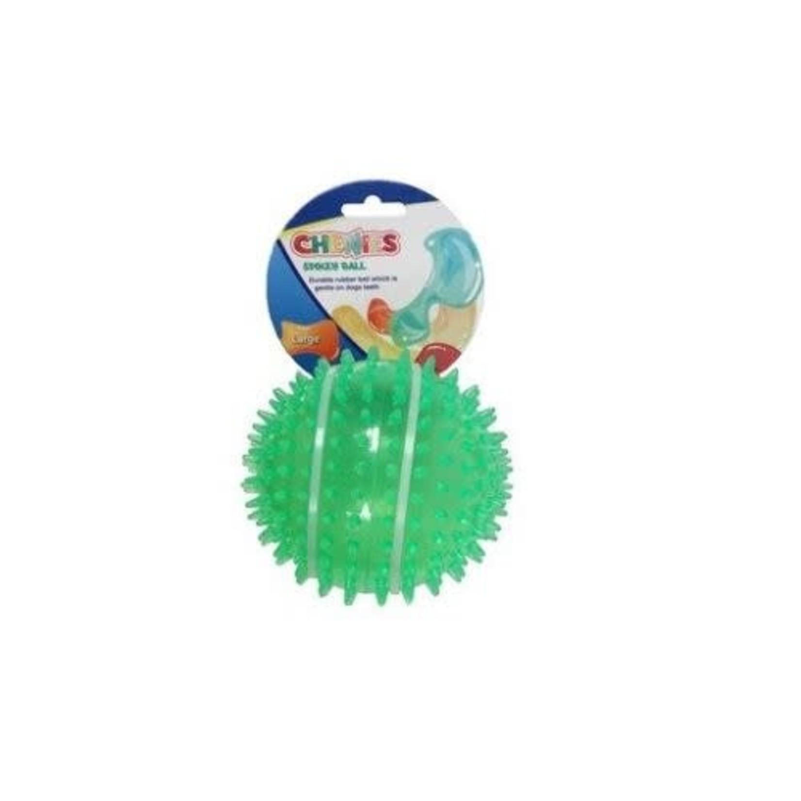 Animal Instincts Chewies Spikey Ball Dog Toy