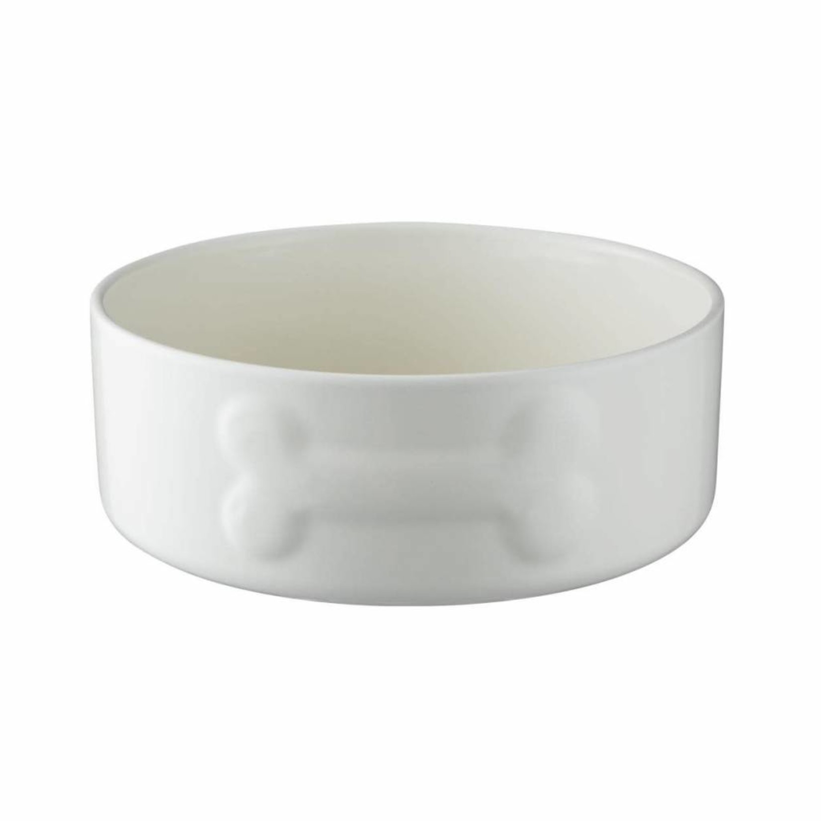 Mason Cash Colour Mix Stoneware Dog Bowl, 20cm 8inch