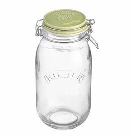 Mason Cash Kilner Bird Food Storage Jar 2 litre