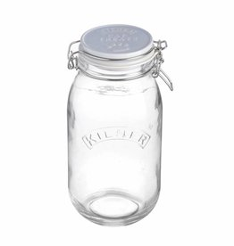 Mason Cash Kilner Cat Food or Treat Storage Jar 2 litre