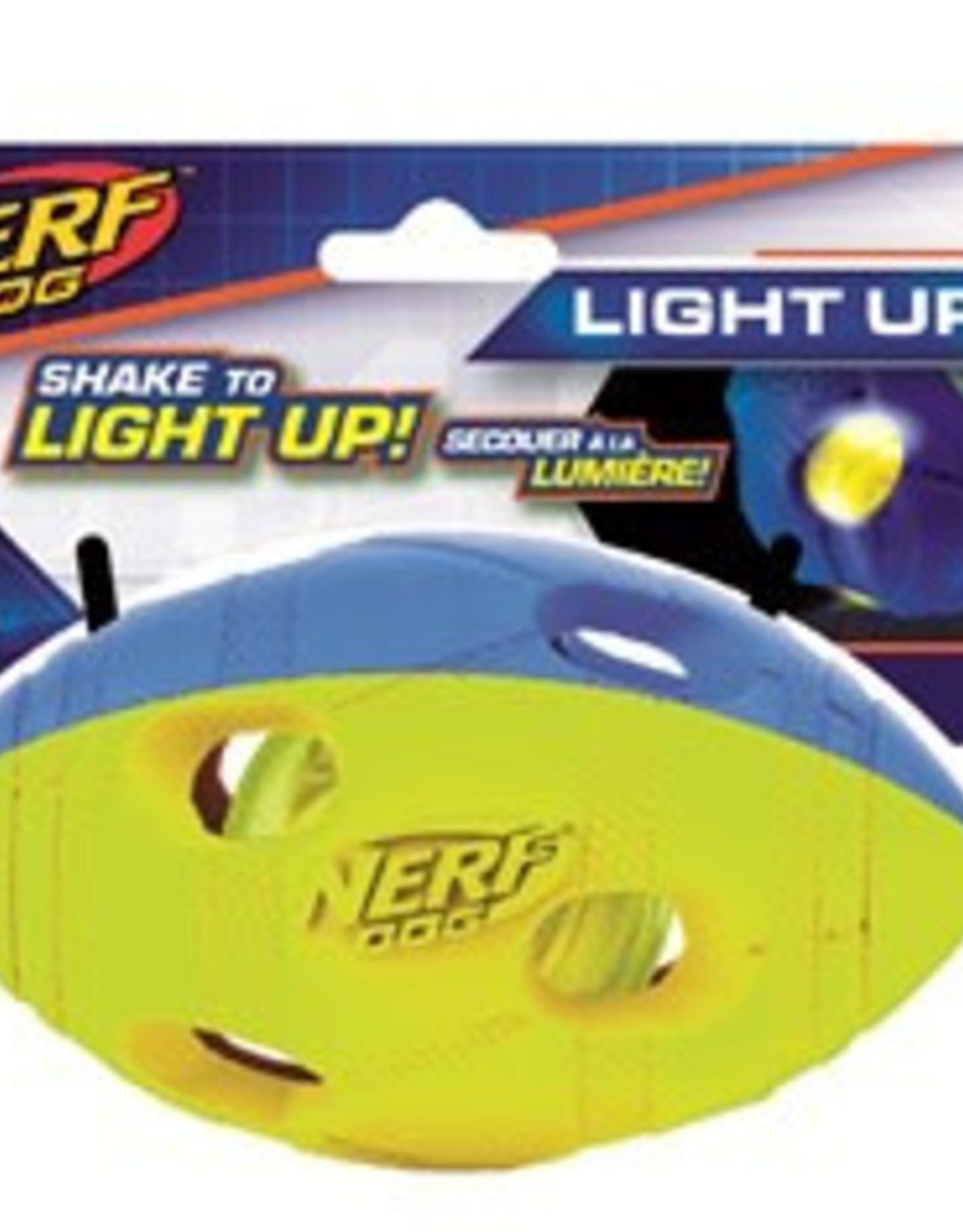 Nerf Dog LED Bash Football Medium Light Up Toy