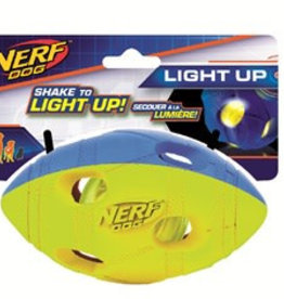 Nerf Dog LED Bash Football Medium Light Up Toy