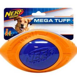 Nerf Mega Tuff Football Dog Toy