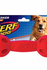 Nerf Dog Squeak Barbell Medium Toy 19cm