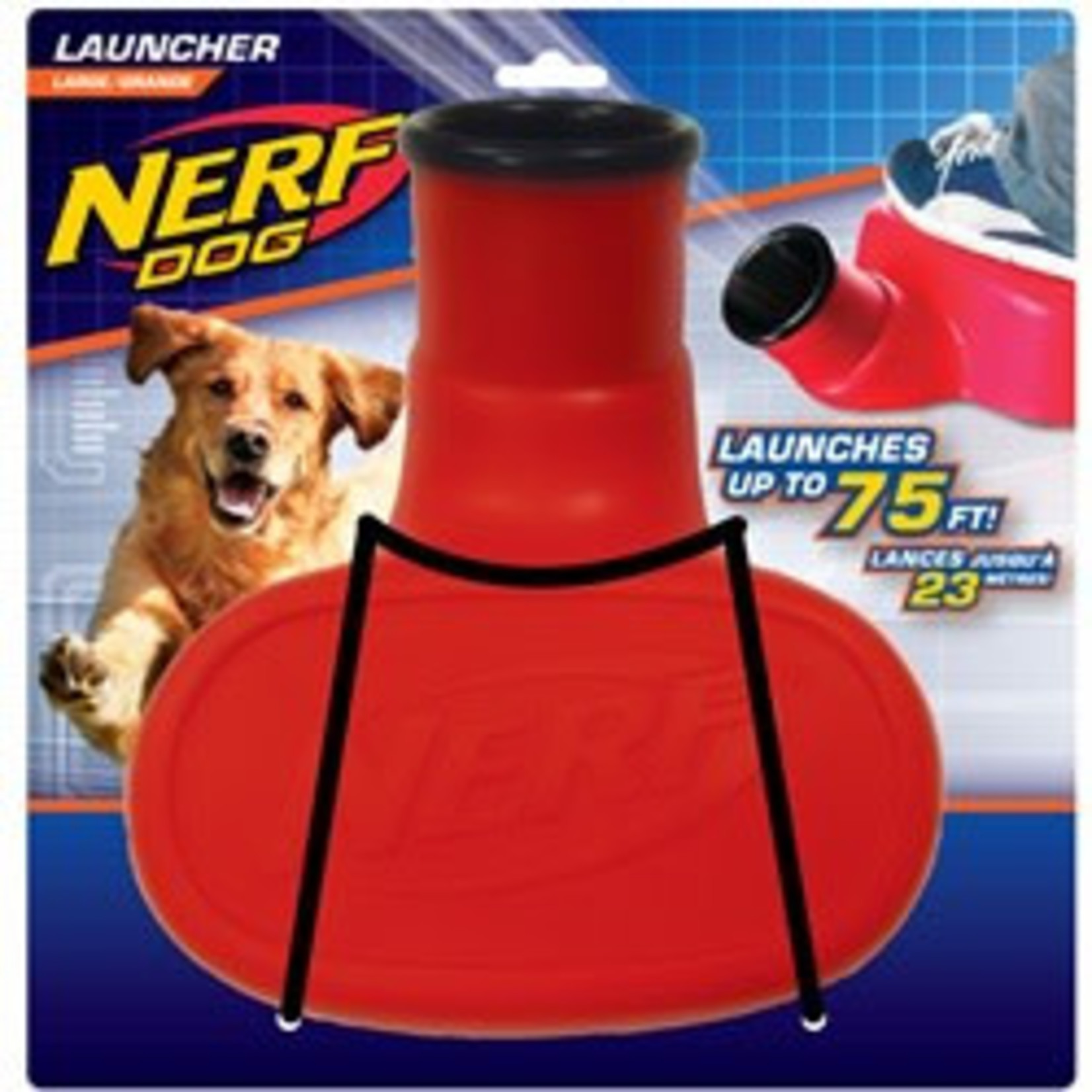 Nerf Stomper Tennis Ball Launcher Dog Toy