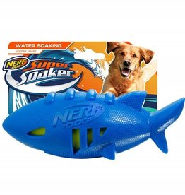 Nerf Dog Super Soaker Shark Rubber Football 18cm