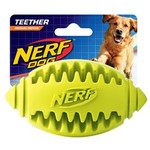 Nerf Teether Football Dog Toy, Medium
