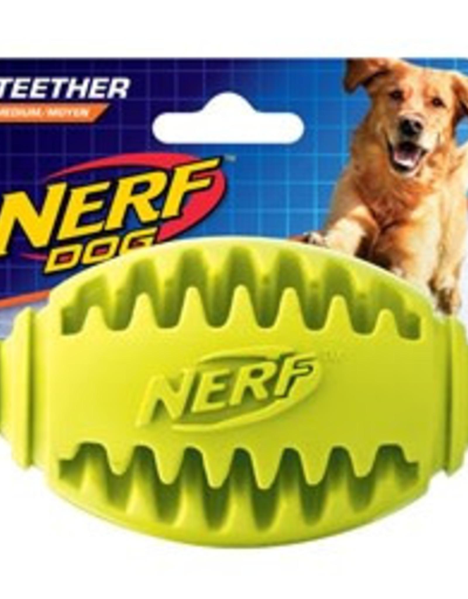 Nerf Dog Teether Football Medium Toy