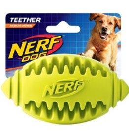 Nerf Teether Football Dog Toy, Medium